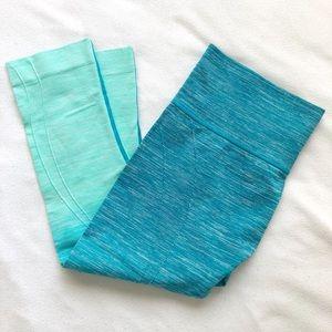 Pants - Blue ombré leggings